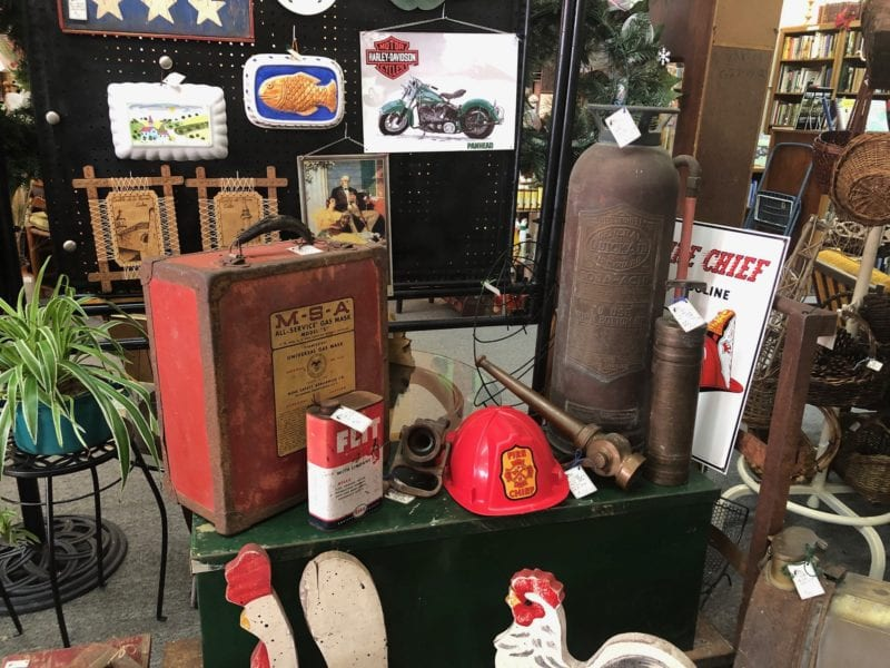 Vintage Fire Extinguisher and Industrial collectibles