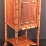 Faux Bamboo Nightstand Or Bedside Table The Antique Swan