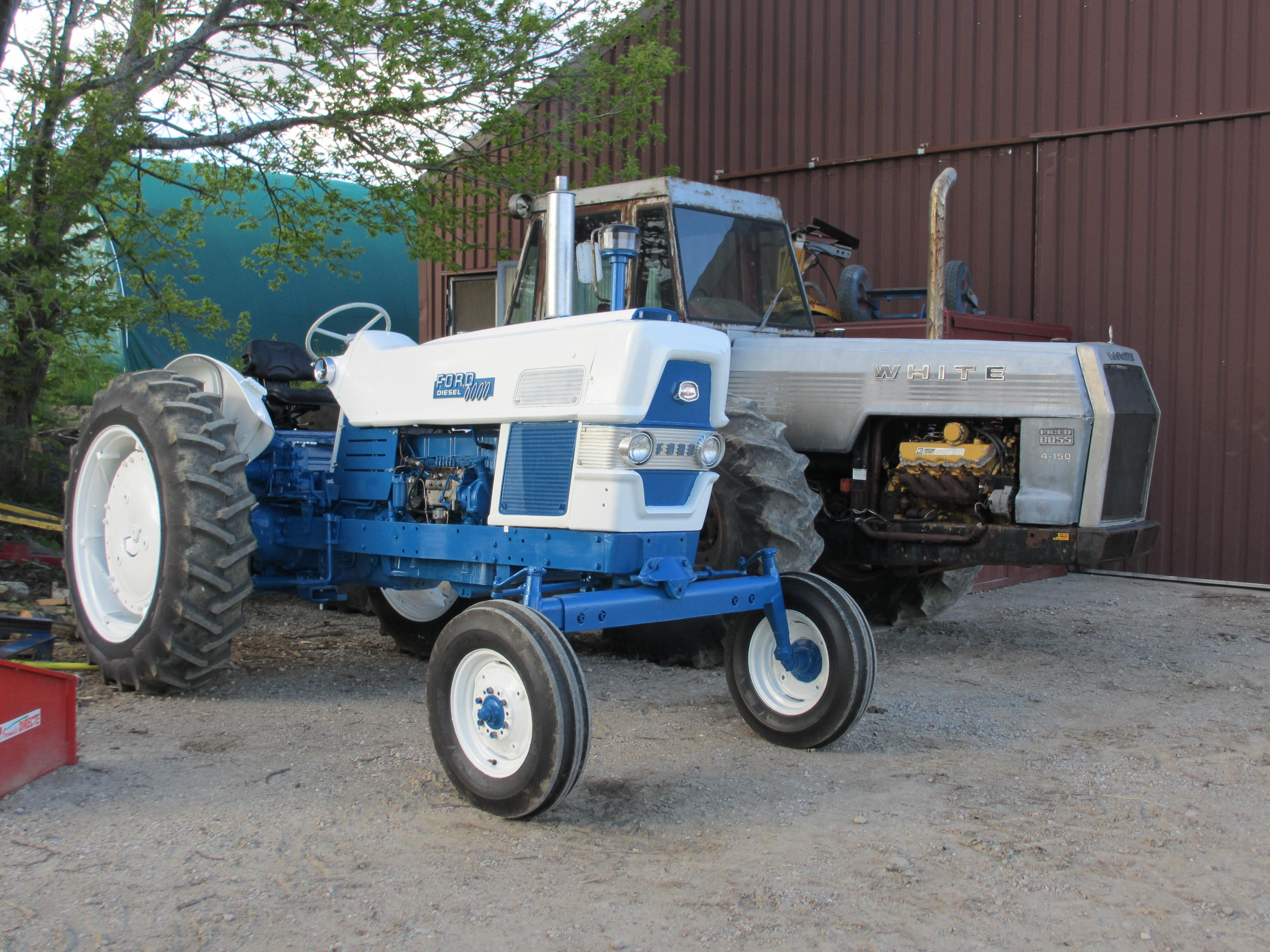 Ford 6000 Diesel Tractor : Tractor story farmall to ford antique