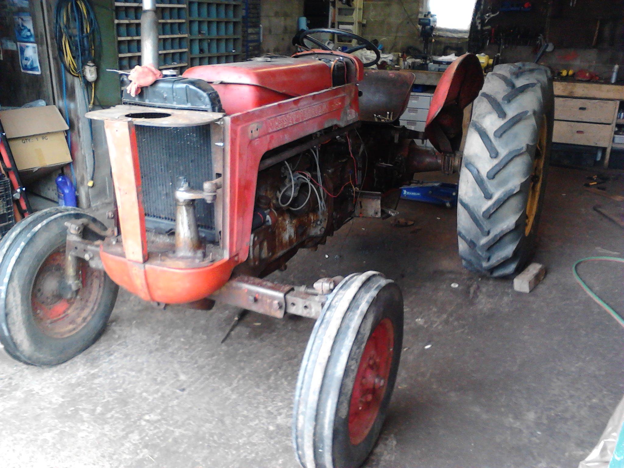 431 Massey Ferguson Tractor Parts : Massey ferguson antique tractor
