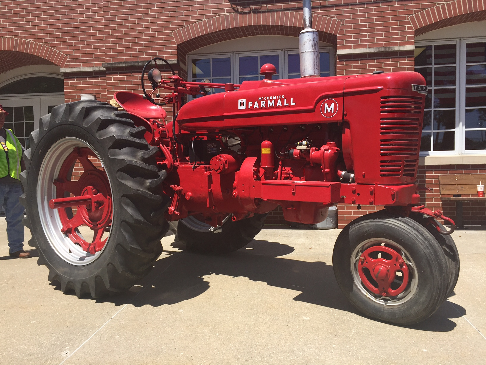 Farm All Tractor : Experimental farmall m tractor antique