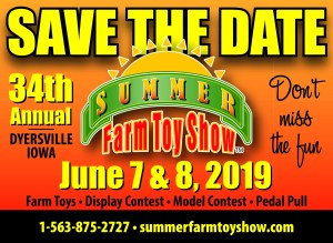 IA - Summer Farm Toy Show Tractor Ride @ National Farm Toy Museum