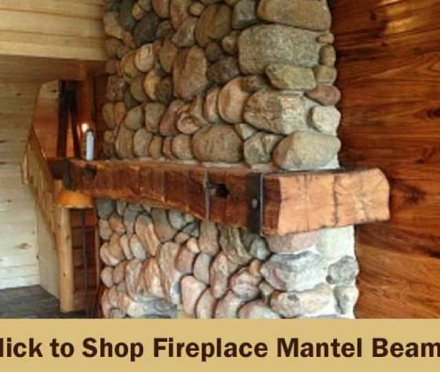 Fireplace Mantels And Rustic Mantel Shelves