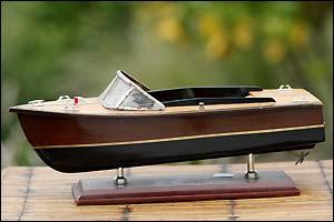 Bateau maquette Riva