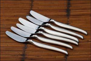 L'argenterie, les couteaux