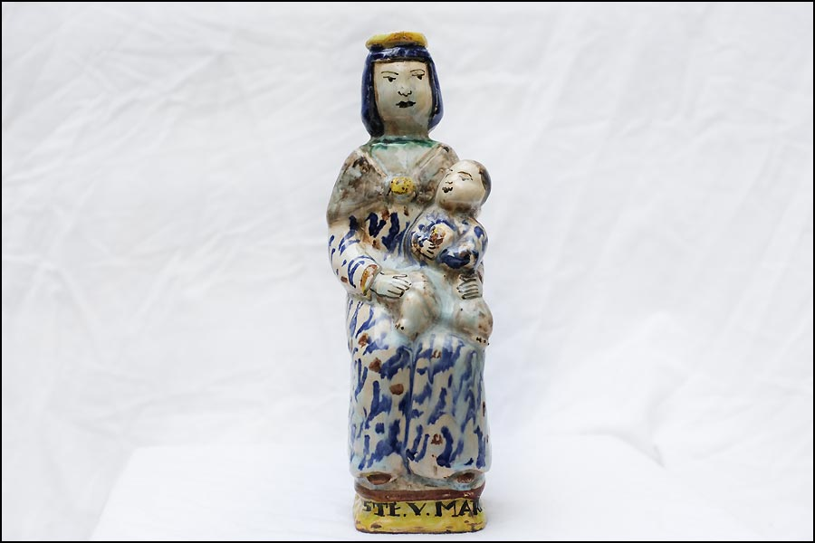 Antique vierge accouchee XVIIIème siècle