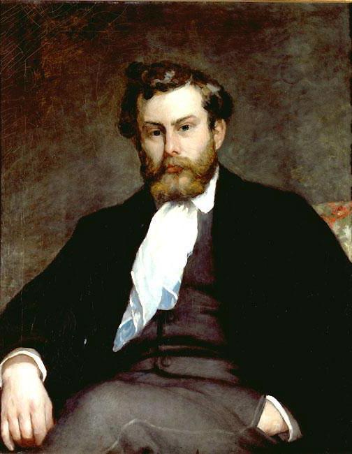 Portrait Alfred Sisley par Pierre-Auguste Renoir