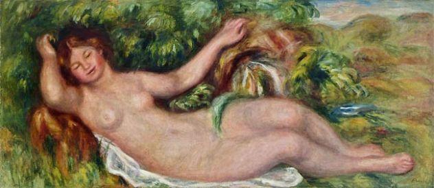 Auguste Renoir nu allongé, 1902