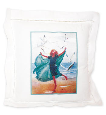 Sea Joy Linen Pillow