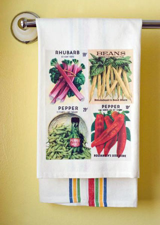 Mixed Veggies Towel