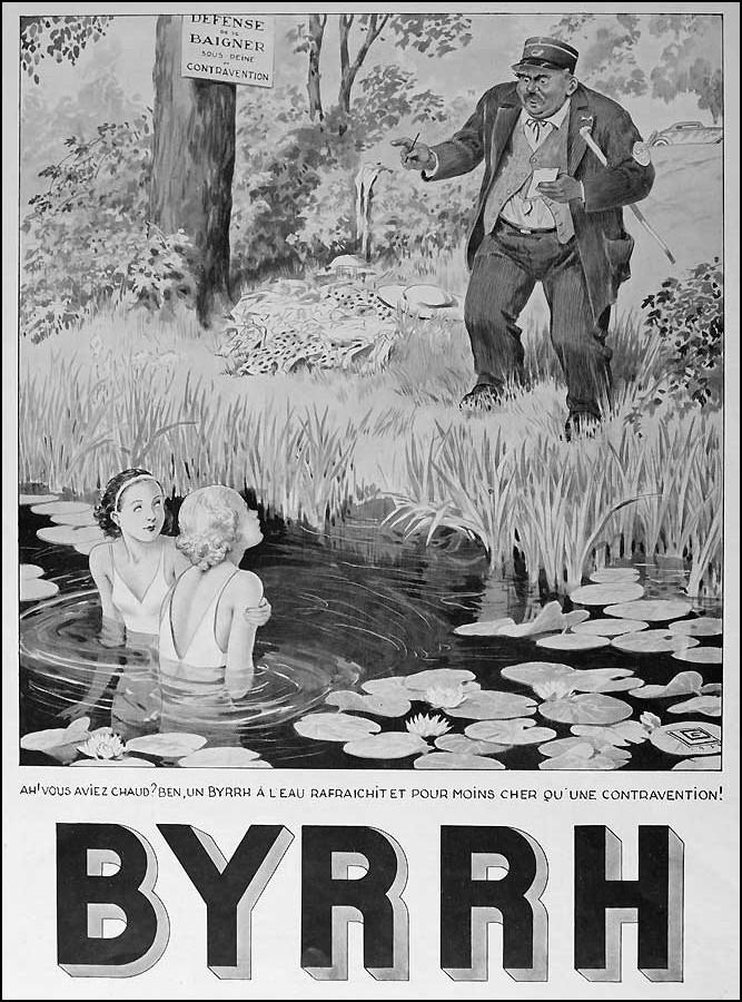 publicité Byrrh Birrh