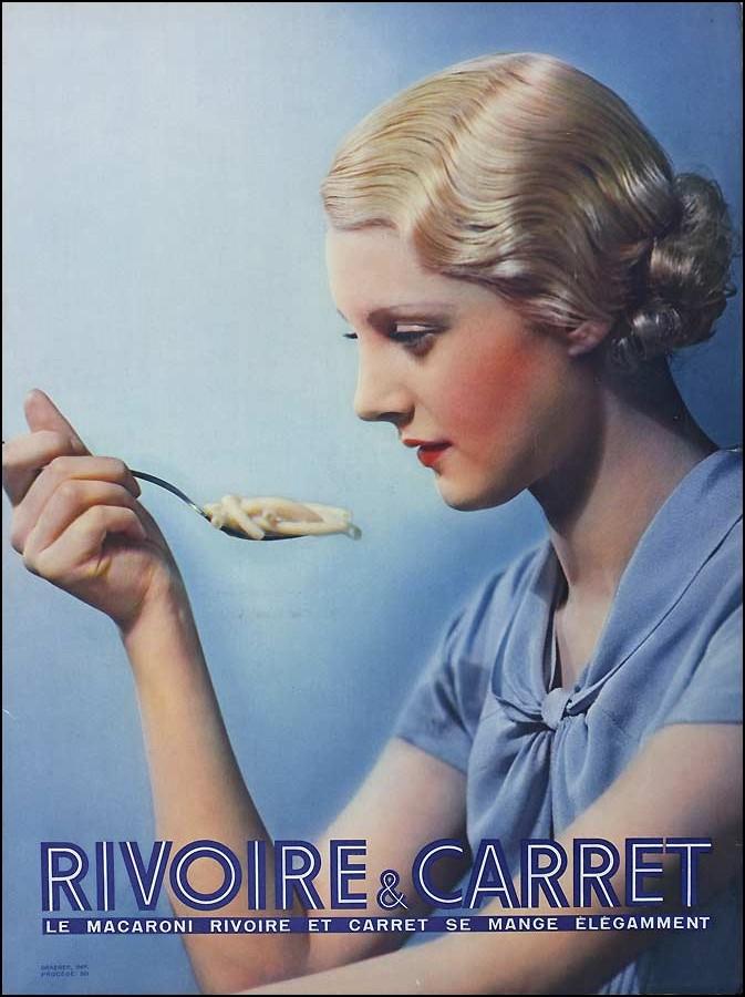 Affiche publicitaire Rivoire et Carret