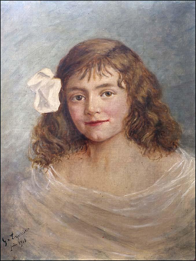 Gaston de Laperrière tableau huile sur toile
