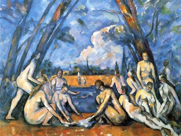 Paul Cézanne les Grandes baigneuses