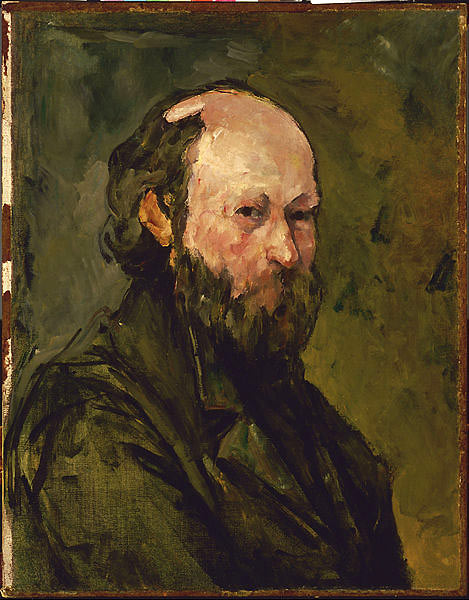 Paul Cézanne auto portrait