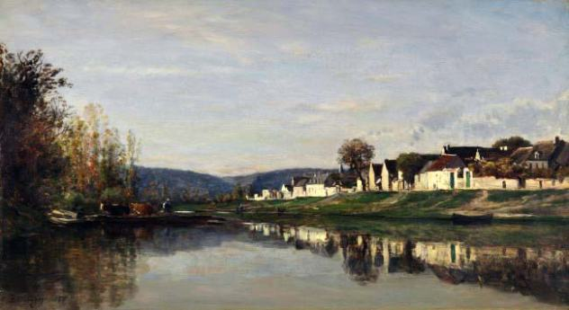 Qui sont ces peintres impressionnistes Charles François Daubigny