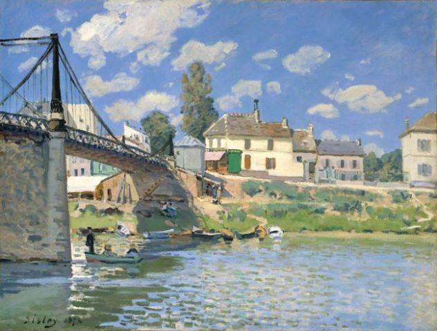 Pont de Villeneuve-la-Garenne