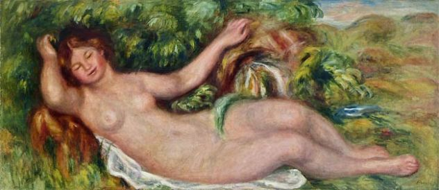 Nu allongé, 1902
