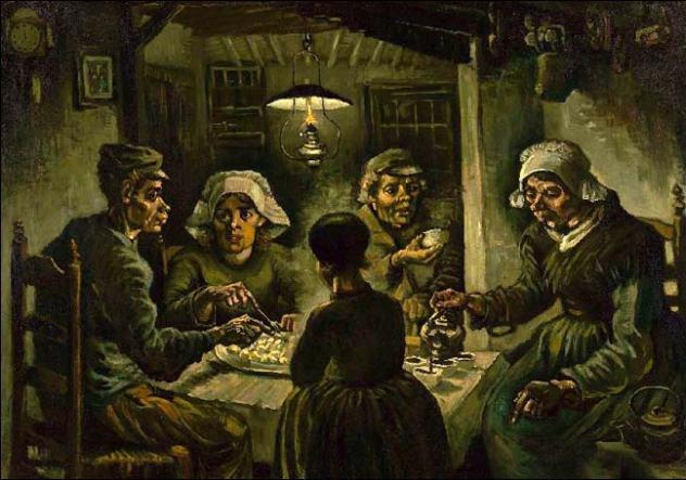 Vincent van Gogh: les mangeurs de pomme de terre