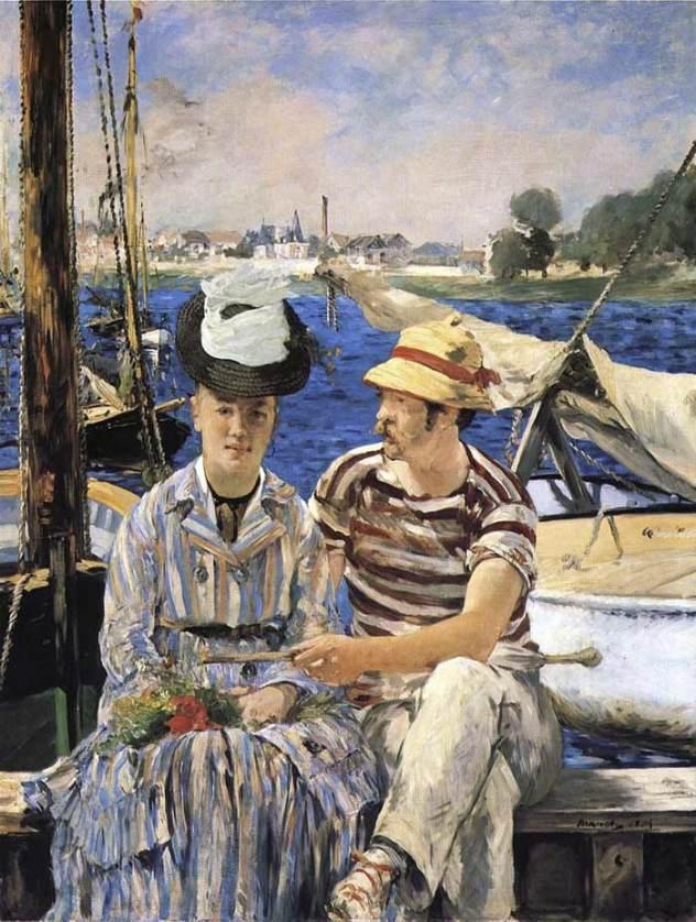 Argenteuil Edouard Manet