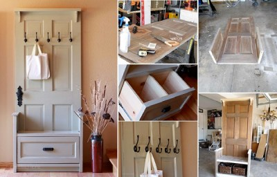 DIY-Entry-Bench-From-Old-Door-Reused