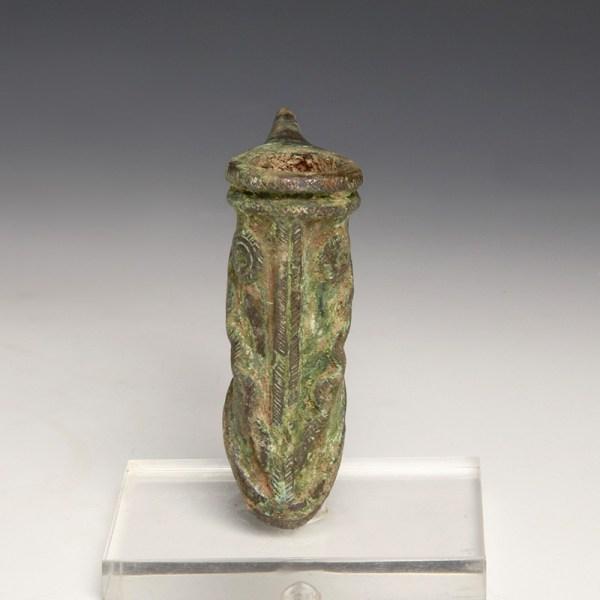 Elamite Axe with Snake Decoration