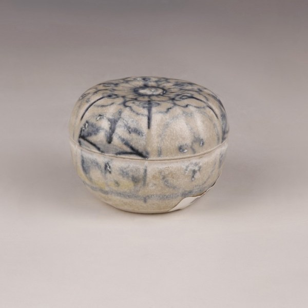 Hoi An Blue and White Small Moulded Box