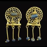 Roman Gold Earrings Set
