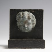 Fine Roman Putto Head Applique