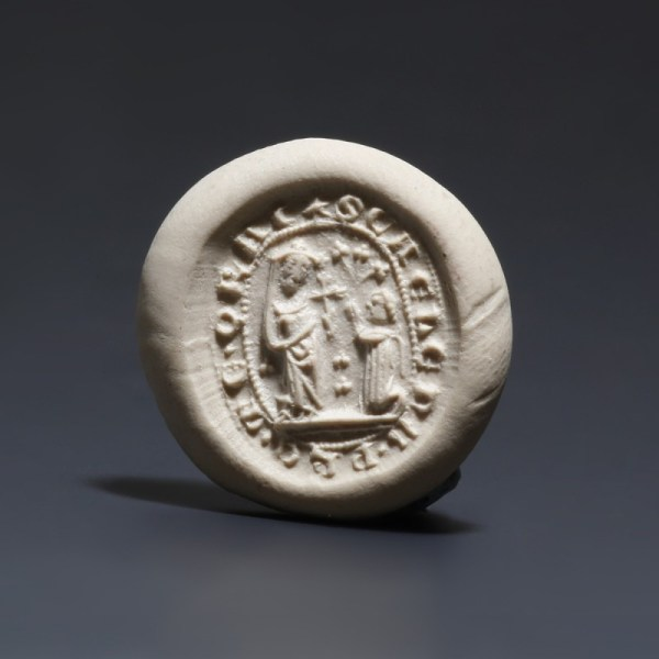 St. Helena Oval Bronze Seal
