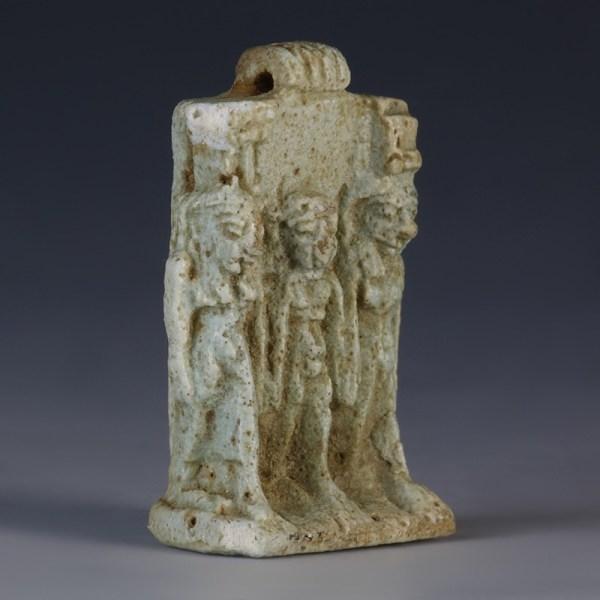 Egyptian Osirian Triad Amulet