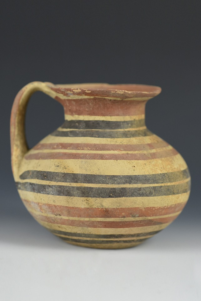 Polychrome Greek Daunian Jar