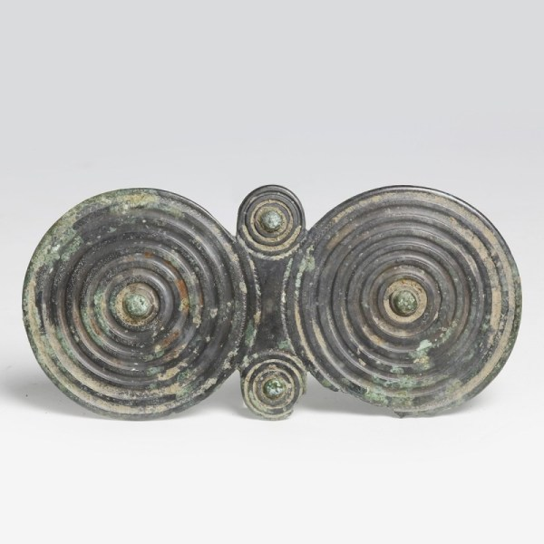 Iron Age Spectacle Plate