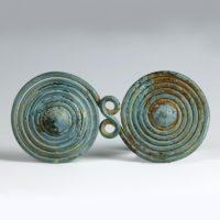 Large Bronze-Age Spiral Decoration