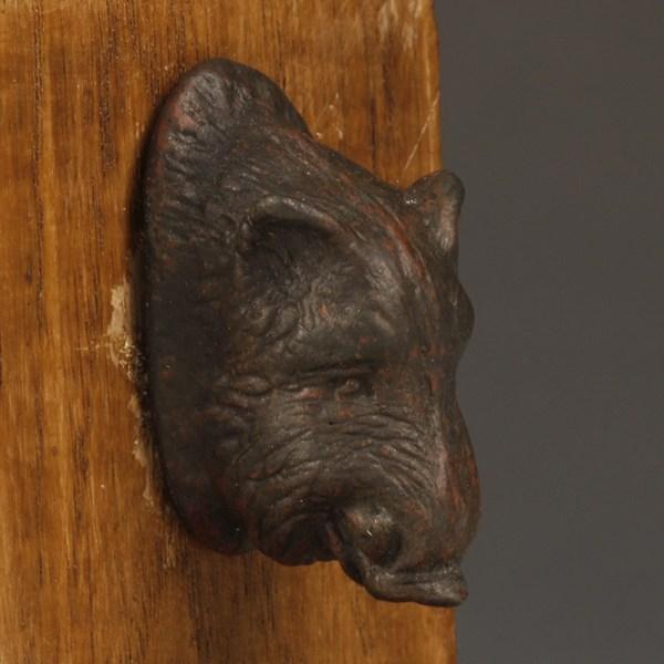 Roman Bronze Boar's Head Appliqué