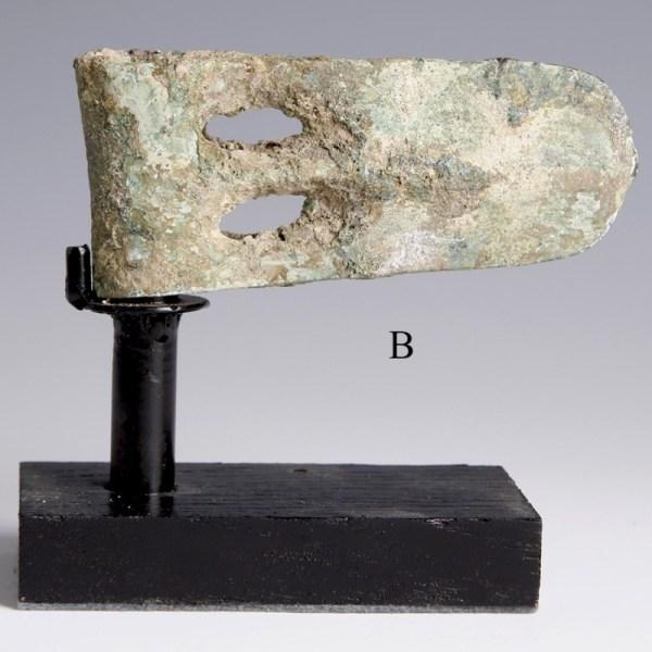 Canaanite Duck-Billed Bronze Axe Heads