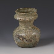 Roman Glass Collared Jar
