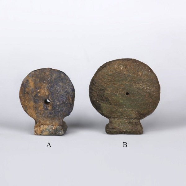 Egyptian Sun-Disc And Seal Amulets