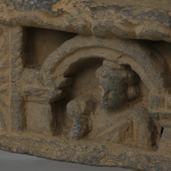 Gandharan Relief with Acolytes