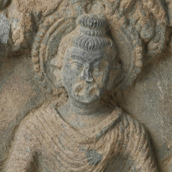 Large Gandharan Relief of Buddha