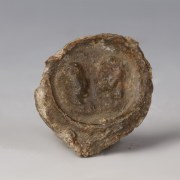 Roman Seal with Imperial Busts
