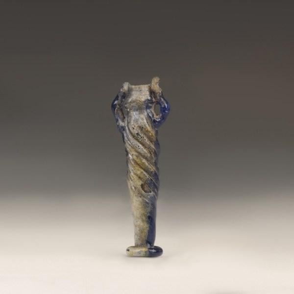 Roman Blue Glass Cosmetic Tube