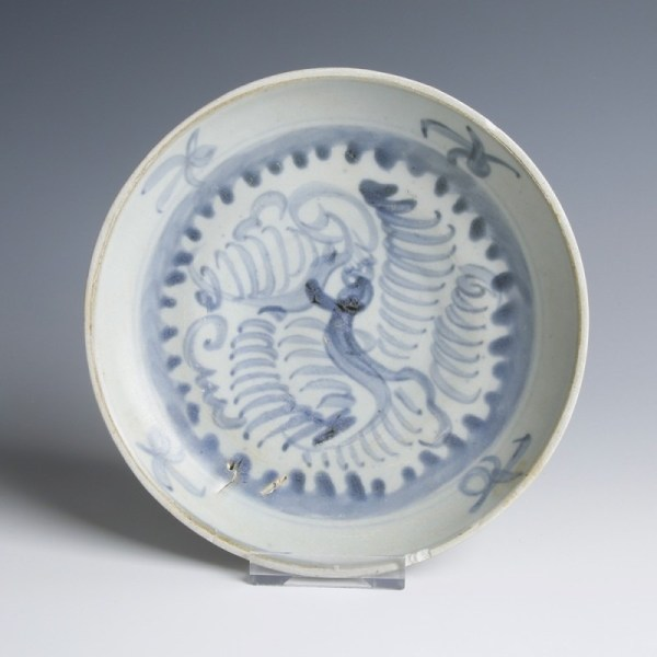 Tek Sing Blue and White Saucer Dish