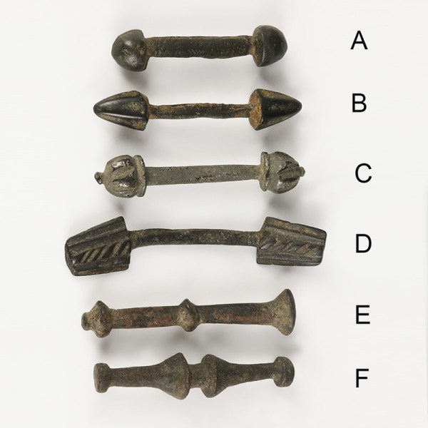 Celtic Iron-Age Clothing Toggles
