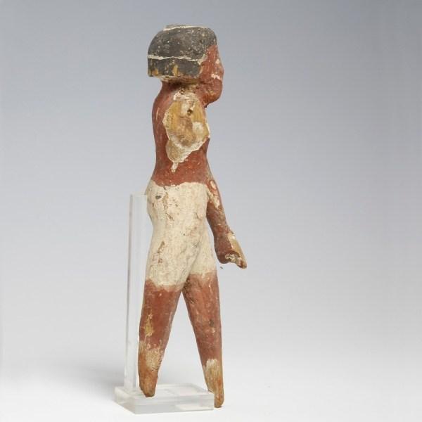 Large Egyptian Middle Kingdom Wood Servant
