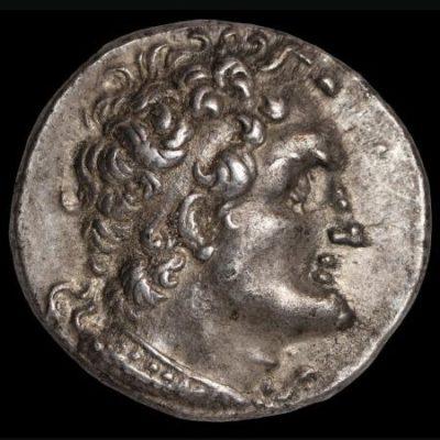 Ptolemy hellenistic tetradrachm