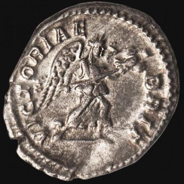 Caracalla Ar. denarius (210 - 213 AD)