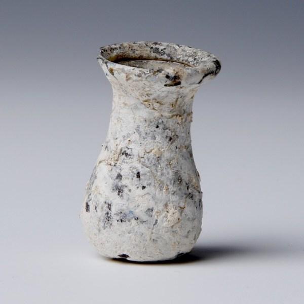 Spool-Shaped Miniature Unguentarium