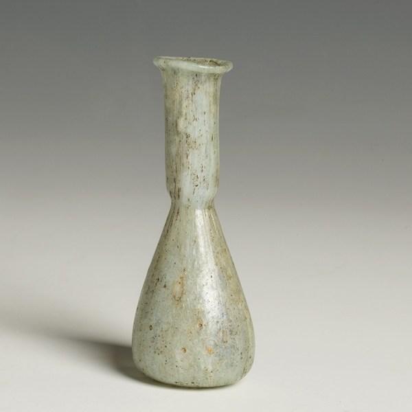 Roman Marbled Glass Flask
