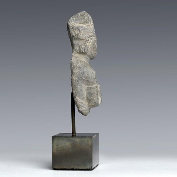 Gandhara Buddhist Stone Statuette